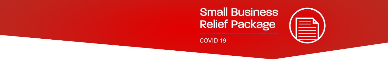 Small business releif-covid19 banner