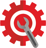 Cog and spanner icon